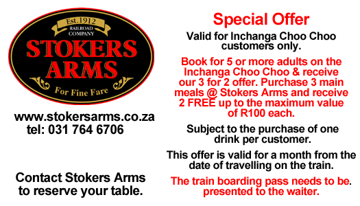 Stokers Arms Special